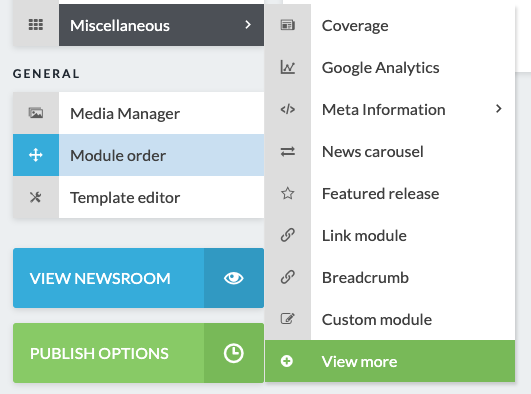 How To Add A Banner Module Presspage Knowledge Base